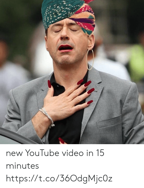 Funny, youtube.com, and Video: new YouTube video in 15 minutes https://t.co/36OdgMjc0z
