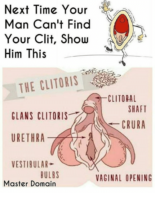Were Cant feel my clitoris