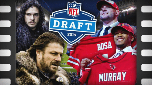 Memes, Nfl, and NFL Draft: NFL  DRAFT  2019  BOSA  MURRAY