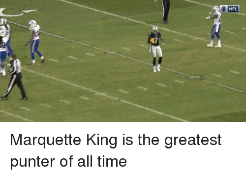 Nfl, Marquette, and Greatest: NFL Marquette King is the greatest punter of all time