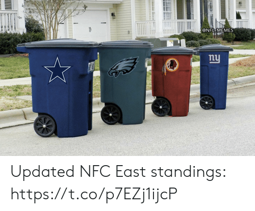 nfc: @NFL MEMES  nu  ট। Updated NFC East standings: https://t.co/p7EZj1ijcP