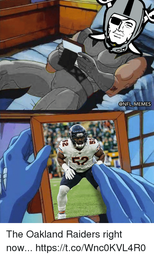 Oakland Raiders: @NFL MEMES The Oakland Raiders right now... https://t.co/Wnc0KVL4R0