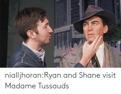 Youtu: nialljhoran:Ryan and Shane visit Madame Tussauds