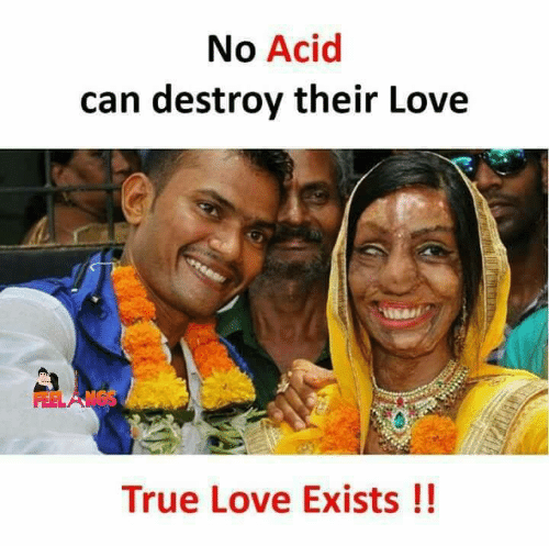 Love, Memes, and True: No Acid  can destroy their Love  True Love Exists!!