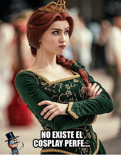 Memes, Cosplay, and 🤖: NO EXISTE EL  COSPLAY PERFE