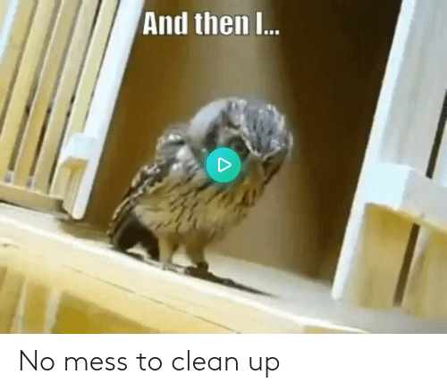 mess: No mess to clean up