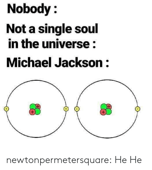Michael Jackson, Tumblr, and Blog: Nobody:  Not a single soul  in the universe:  Michael Jackson: newtonpermetersquare:  He He