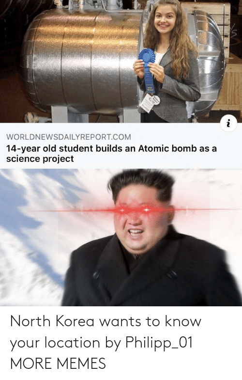 Location: North Korea wants to know your location by Philipp_01 MORE MEMES