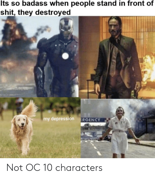 Characters: Not OC 10 characters