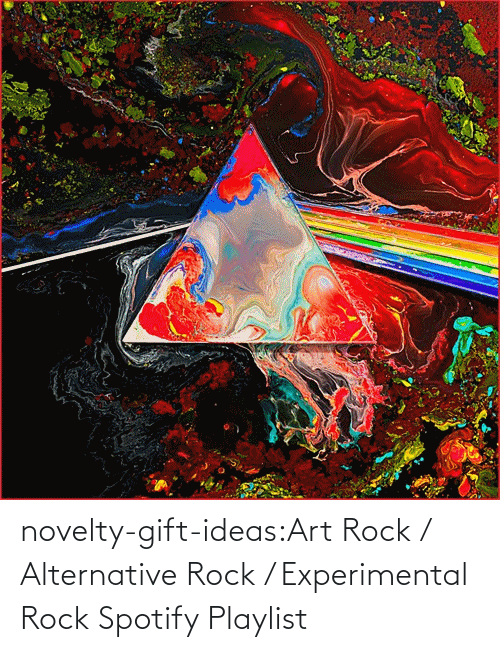 novelty: novelty-gift-ideas:Art Rock / Alternative Rock / Experimental Rock Spotify Playlist