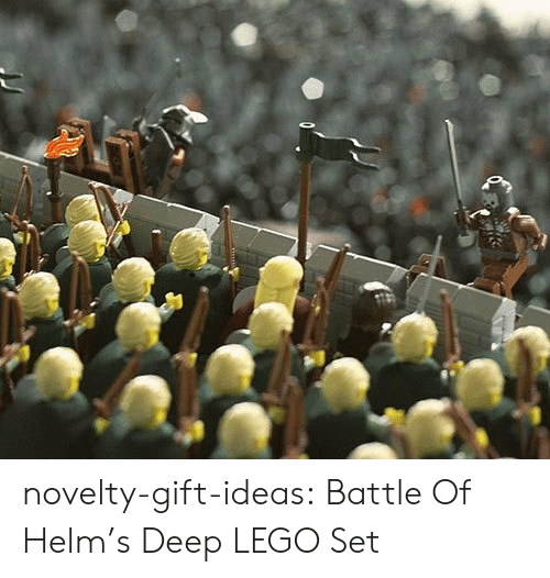 lego: novelty-gift-ideas:  Battle Of Helm's Deep LEGO Set