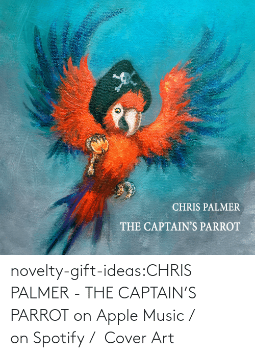 novelty: novelty-gift-ideas:CHRIS PALMER - THE CAPTAIN'S PARROT on Apple Music /  on Spotify /  Cover Art