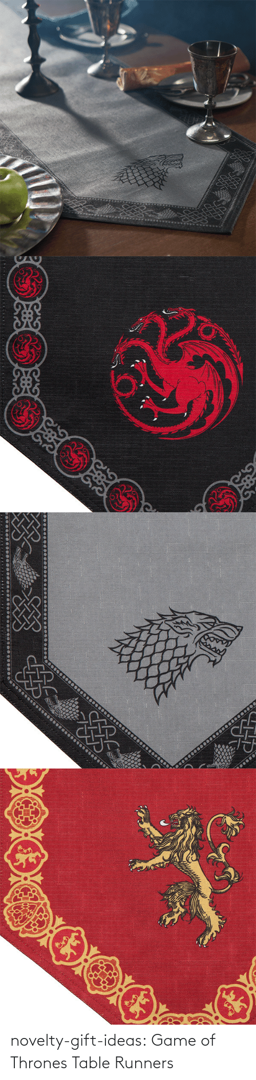 Game: novelty-gift-ideas:  Game of Thrones Table Runners