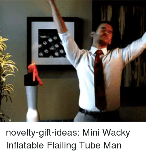 inflatable: novelty-gift-ideas:  Mini Wacky Inflatable Flailing Tube Man