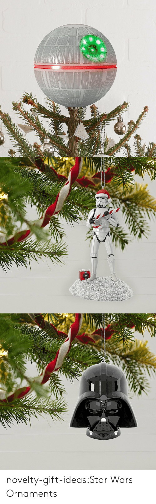 Star Wars, Tumblr, and Blog: novelty-gift-ideas:Star Wars Ornaments