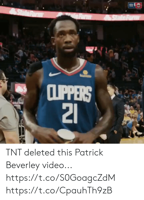 nra: NRA NT  SdFrm  CLIPPERS  21 TNT deleted this Patrick Beverley video... https://t.co/S0GoagcZdM https://t.co/CpauhTh9zB