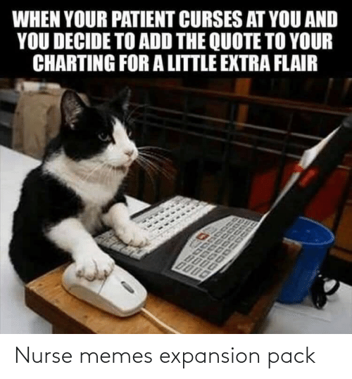 nurse: Nurse memes expansion pack
