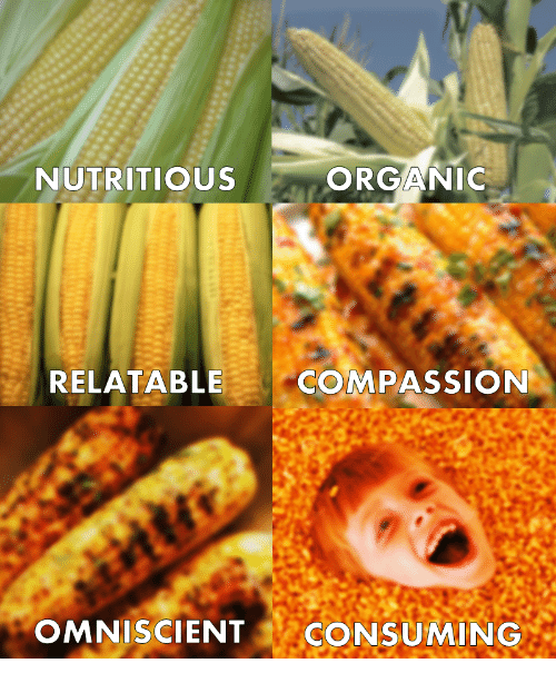 Relatable, Compassion, and Organic: NUTRITIOUS  ORGANIC  RELATABLE  COMPASSION  OMNISCIENT CONSUMING