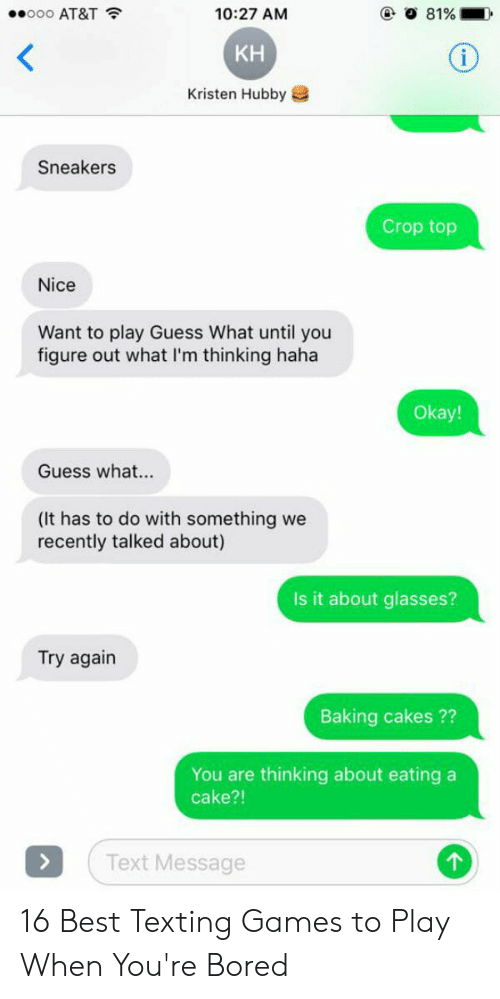 To texting play games 10 New
