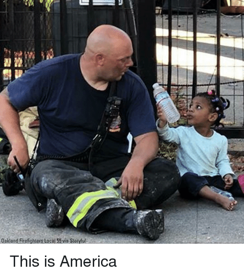 America, Local, and Via: Oakland Firefighters Local 55 via Storyful