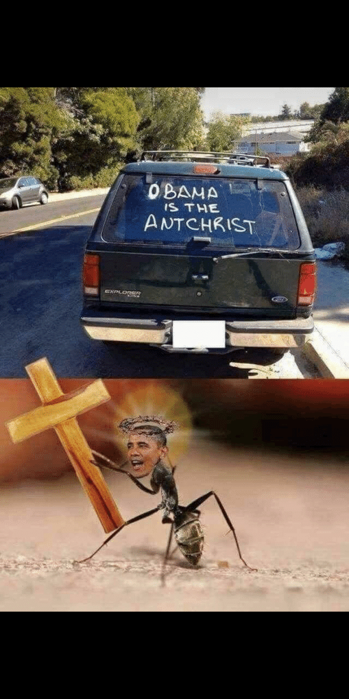 Obama and The: OBAMA  IS THE  ANTCHKIST