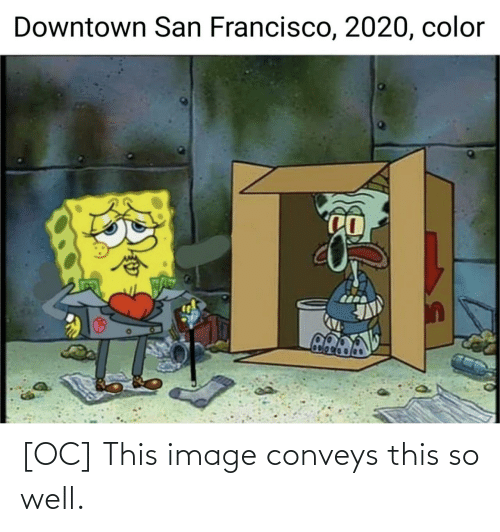 well: [OC] This image conveys this so well.