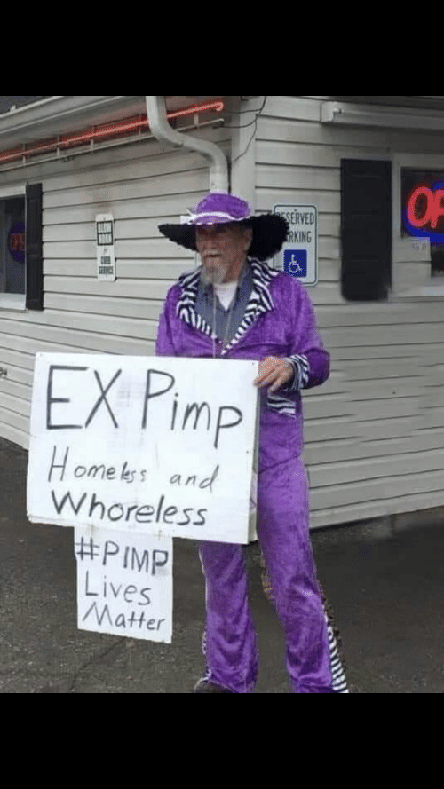 Home, Kos, and Matter: OF  ESERVED  TRKING  EX Pimp  Home kos and  Whoreless  #PIMP  Lives  Matter