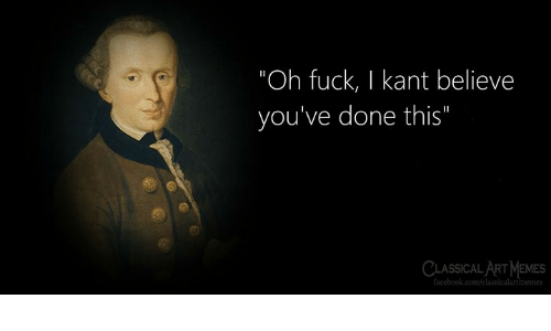 "classical art memes: ""Oh fuck, I kant believe  you've done this""  CLASSICAL ART MEMES  facebook.com/classicalartimemes"