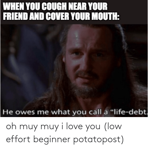 I Love You: oh muy muy i love you (low effort beginner potatopost)