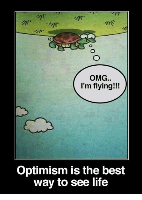 im flying: OMG.  I'm flying!!!  Optimism is the best  way to see life