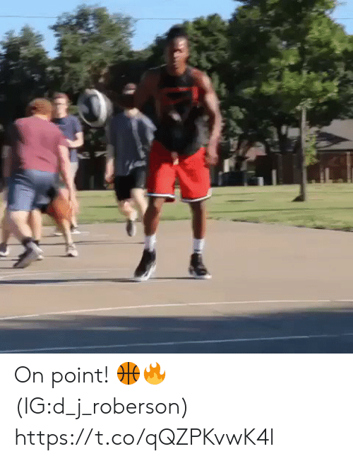 on point: On point! 🏀🔥 (IG:d_j_roberson) https://t.co/qQZPKvwK4l