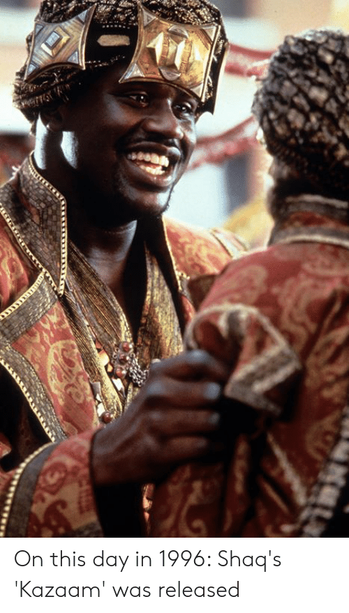 shaqs: On this day in 1996: Shaq's 'Kazaam' was released