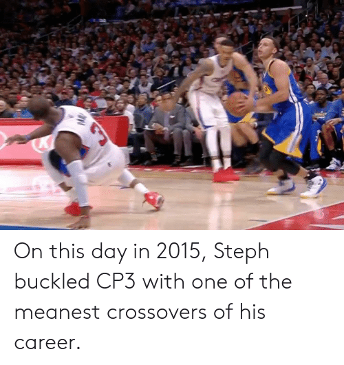 cp3: On this day in 2015, Steph buckled CP3 with one of the meanest crossovers of his career.