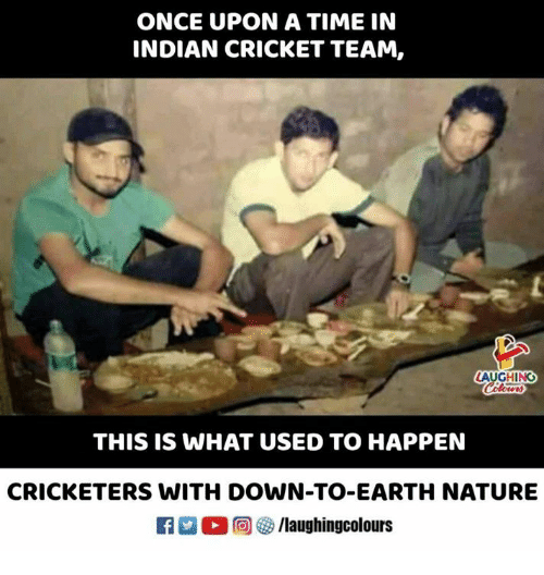 Cricket, Earth, and Nature: ONCE UPON A TIME IN  INDIAN CRICKET TEAM,  AUGHING  THIS IS WHAT USED TO HAPPEN  CRICKETERS WITH DOWN-TO-EARTH NATURE