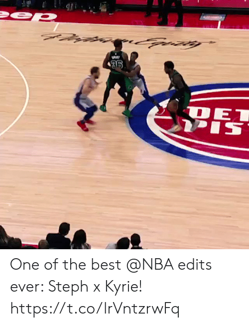 edits: One of the best @NBA edits ever: Steph x Kyrie!     https://t.co/lrVntzrwFq