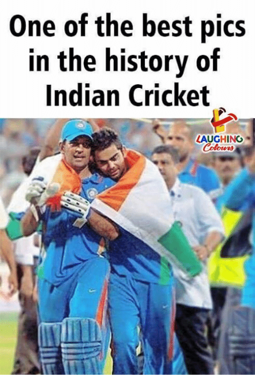 indian cricket: One of the best pics  in the history of  Indian Cricket  LAUGHING  Colowrs