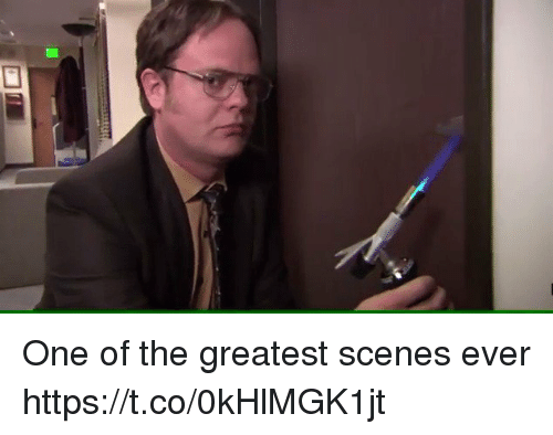 Memes, 🤖, and One: One of the greatest scenes ever https://t.co/0kHlMGK1jt