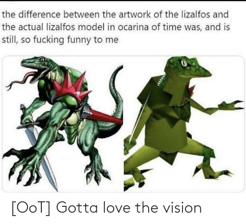 Vision: [OoT] Gotta love the vision