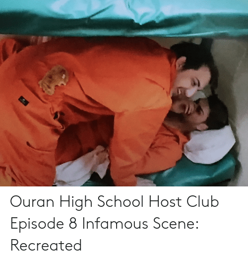 ouran high school host club: Ouran High School Host Club Episode 8 Infamous Scene: Recreated