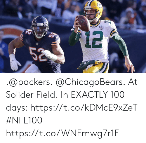 chicagobears: .@packers. @ChicagoBears. At Solider Field.  In EXACTLY 100 days: https://t.co/kDMcE9xZeT #NFL100 https://t.co/WNFmwg7r1E