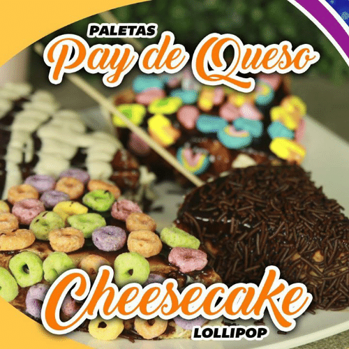 Memes, 🤖, and Lollipop: PALETAS  Oueso  Chesecake  LOLLIPOP