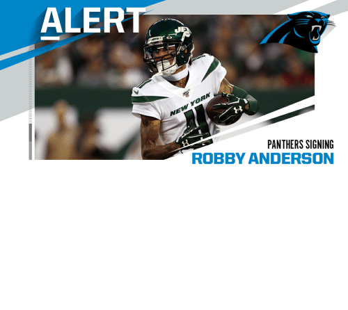 Panthers: Panthers sign WR Robby Anderson to two-year, $20M deal. (via @RapSheet) https://t.co/pMfxTVPeZ8