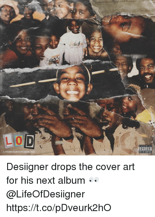 Parental Advisory, Desiigner, and Art: PARENTAL  ADVISORY  ART BY CONTRA  ASTUDIOALBUMBY DESIGNER Desiigner drops the cover art for his next album 👀 @LifeOfDesiigner https://t.co/pDveurk2hO
