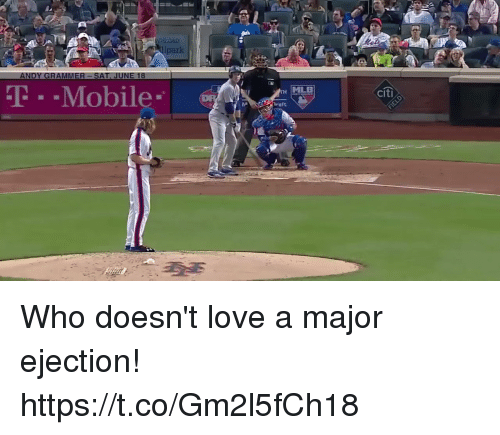 Citi: park  T-Mobile  MLE  citi  raft Who doesn't love a major ejection! https://t.co/Gm2l5fCh18