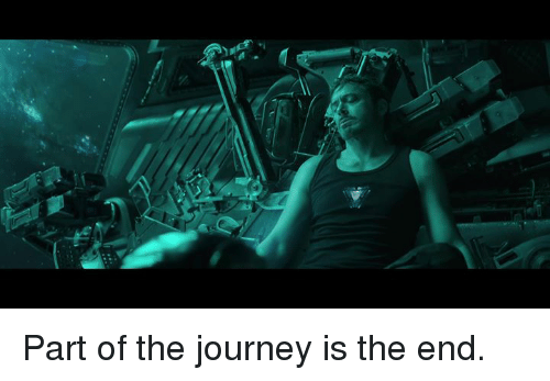 Journey, Memes, and 🤖: Part of the journey is the end.