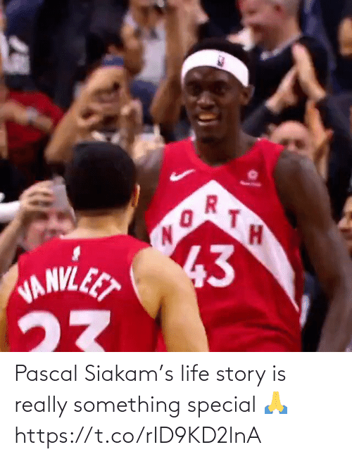special: Pascal Siakam's life story is really something special 🙏 https://t.co/rID9KD2lnA