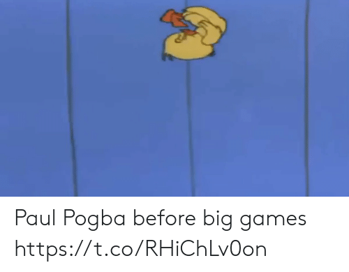 pogba: Paul Pogba before big games https://t.co/RHiChLv0on