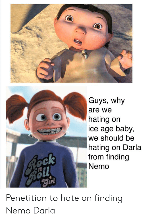 Finding Nemo: Penetition to hate on finding Nemo Darla