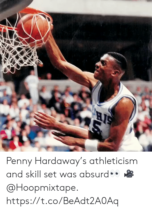 penny: Penny Hardaway's athleticism and skill set was absurd👀  🎥 @Hoopmixtape.  https://t.co/BeAdt2A0Aq