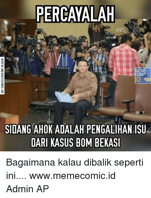 🇲🇽 25 Best Memes About Sidang Ahok